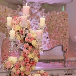 Candelight flowers