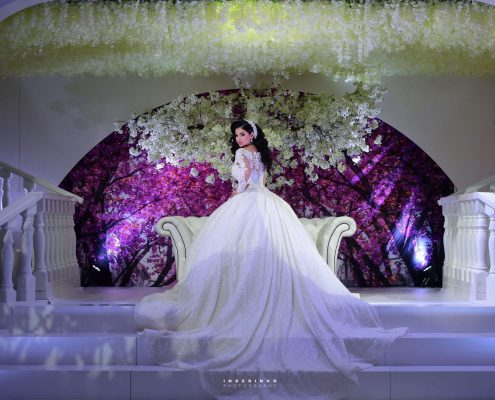 the beauty of babylon bride stage