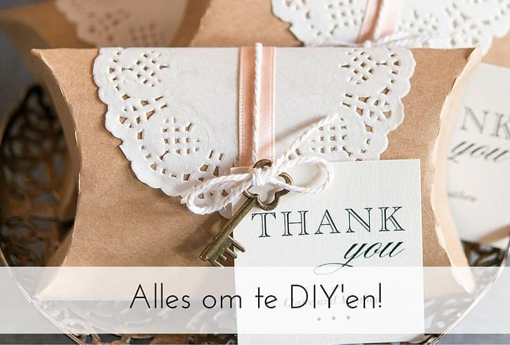 De Do It Yourself (DIY) bruiloft