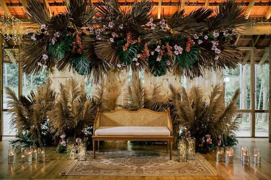 Bohemian bride stage